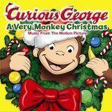 Curious George: A Very Monkey Christmas [CD]