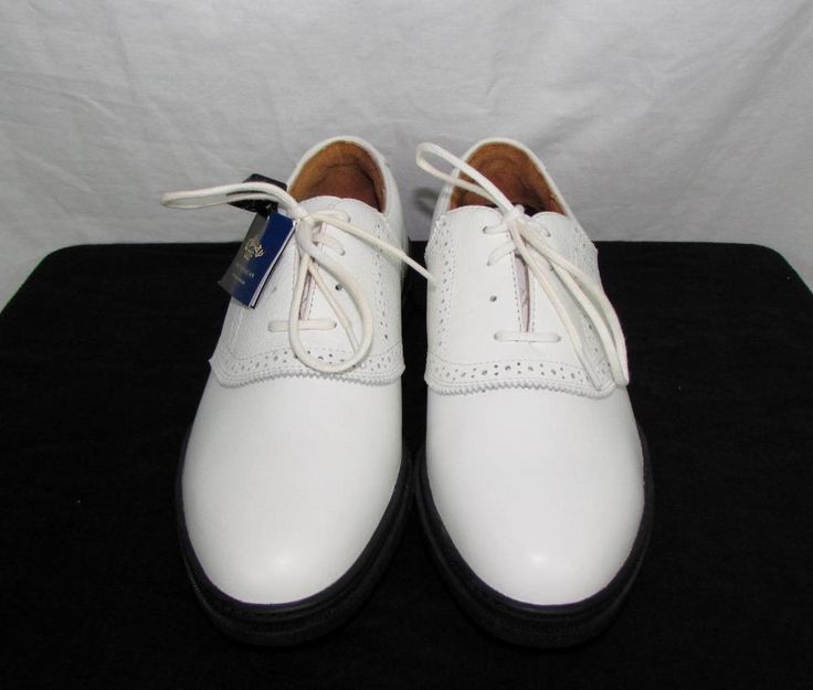 Callaway Broadmoor White Golf Shoes by Nordstrom 100% Leather sz 8.5 NEW NWT #Callaway