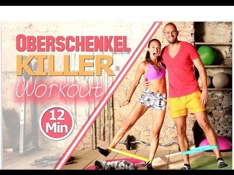 Theraband Übungen - 20 Min Gummiband Workout für Anfänger und Fortgeschrittene - Zuhause trainieren - YouTube
