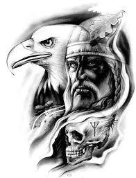 wiking wzory tatuaży - Szukaj w Google