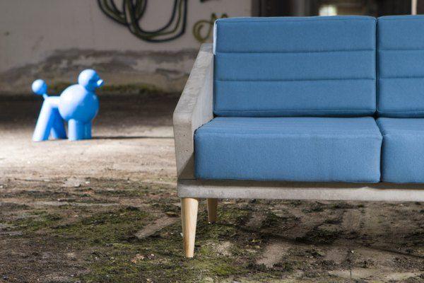 Sofa z betonu Timeless