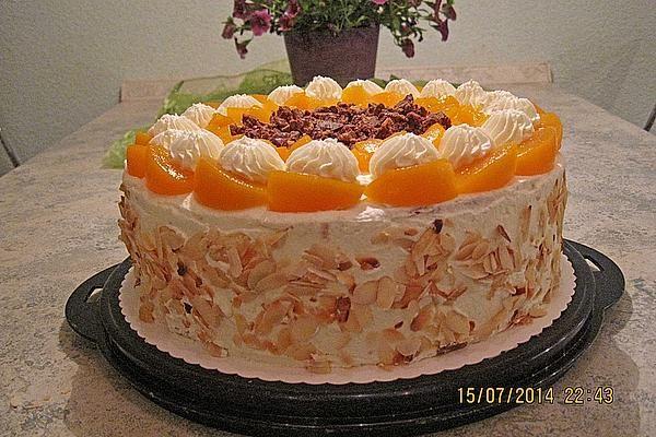 Schokocrossies – Kuchen mit Pfirsichen   – Cooking…