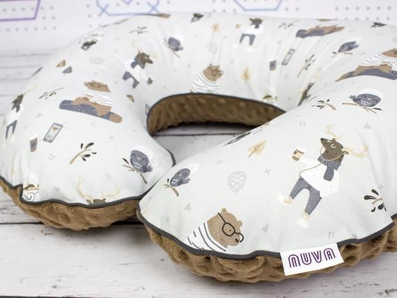 ba93c2841 Hipster Woodland Animal Boppy Cover