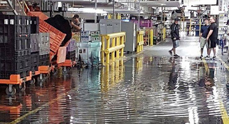 FCAs Ontario Plant Suspends Minivan Production Due To Flooding