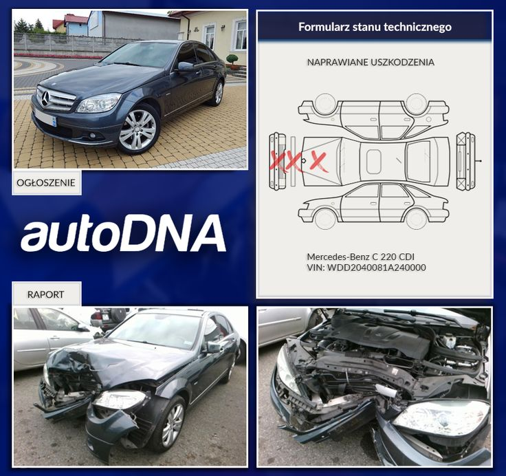 Baza #autoDNA - #UWAGA! #Mercedes-#Benz https://www.autodna.pl/lp/WDD2040081A240000/auto/b499220c771030ad53912650845f6ac5fec76ddc https://www.autodna.pl/vin/WDD2040081A240000/mercedes-benz-c-220-cdi-2148cm3-diesel/054e2990b44d3d40ac47dcebabc187f89de3d51b https://www.otomoto.pl/oferta/mercedes-benz-klasa-c-2-2-cdi-170-km-avantgarde-zadbany-gwarancja-ID6yVHNx.html