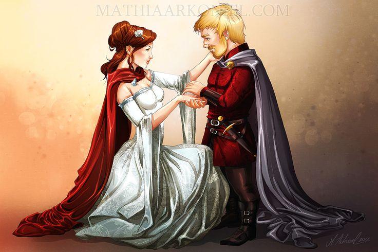 asoiaf: Tyrion and Sansa's Wedding by MathiaArkoniel.deviantart.com on @deviantART