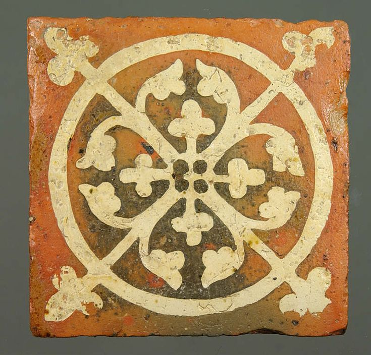 Medieval Floor Tile From Tintern Abbey Sca Designs