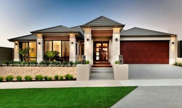 Small modern home