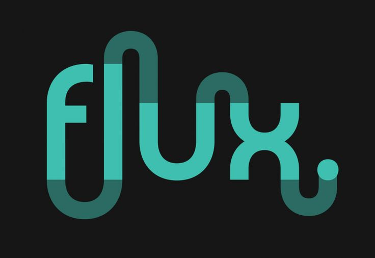 The Flux rebrand reflects our new purpose. ‪#‎graphicdesign‬ ‪#‎logodesign‬