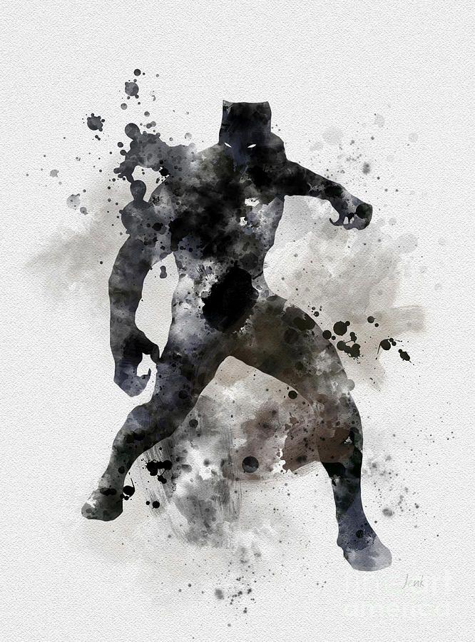 Image Result For The Art Of Black Panther Desenhos Para Colorir