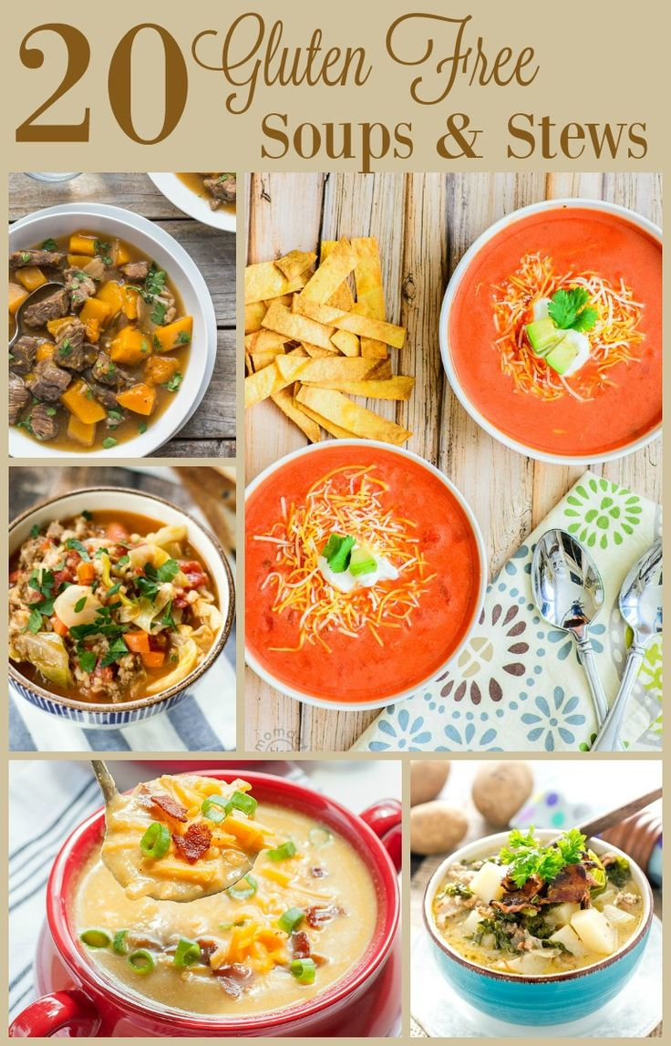 20 Gluten Free Soups and Stews - Almost Supermom
