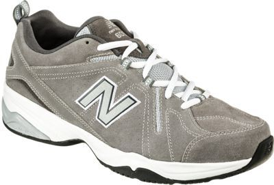 New Balance 608v4 Training Shoes for Men - Gray - 10.5XW
