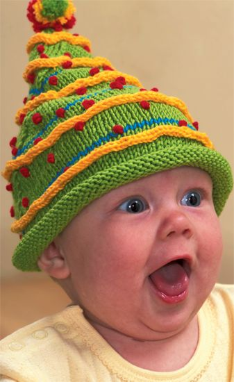 Christmas tree hats--do the holidays get any happier than this? :)