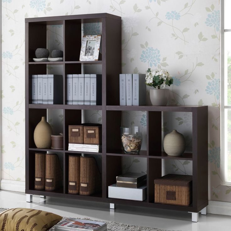 Baxton Studio Cube Cabinet