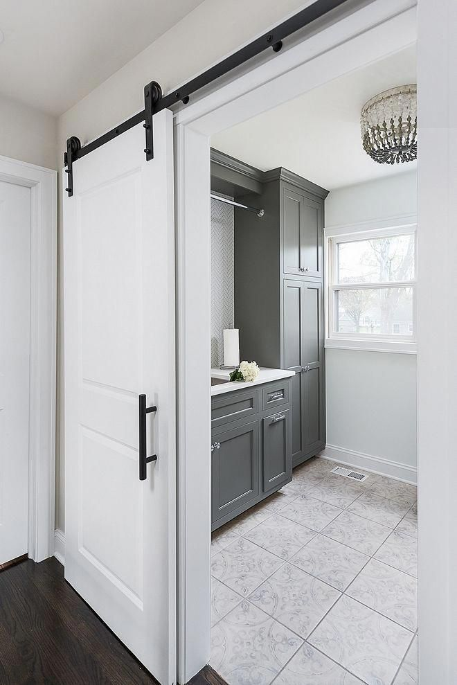 Grey Laundry Room Renovated Laundry Room Upstairs You Will Find A