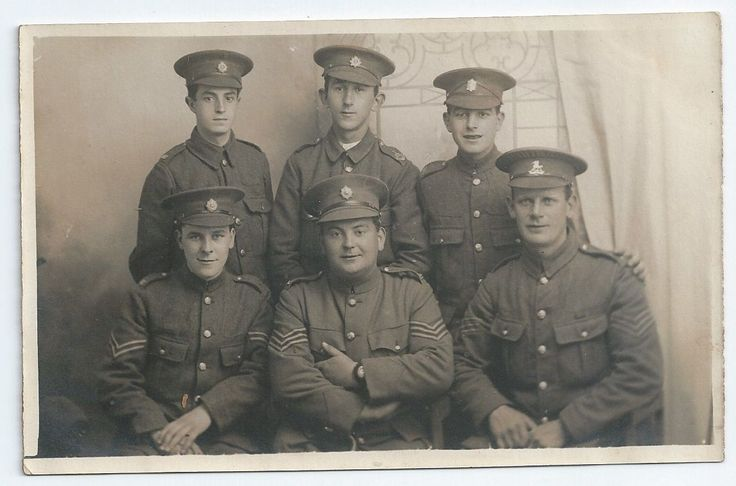 Sgt William Waring VC MYC Seated right