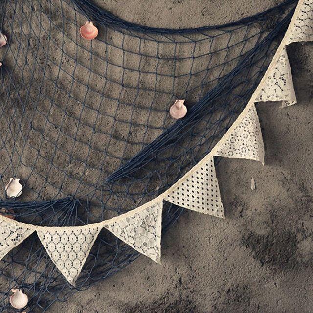 Старинные Свадебные украшения Белый Хлопок Кружева Треугольник Овсянка Флаги Баннер Место Висит Декор День Рождения Поставщиков