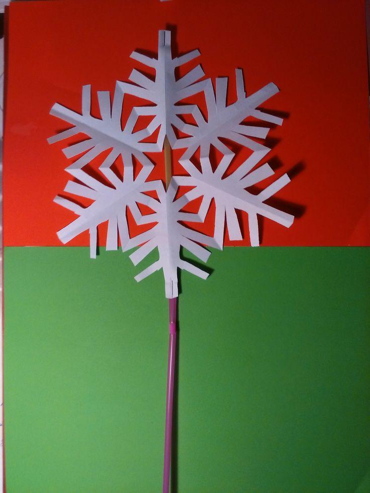 """copos para navidad 2015, cuando cantaron la canción """"Little Snowflake"""""""