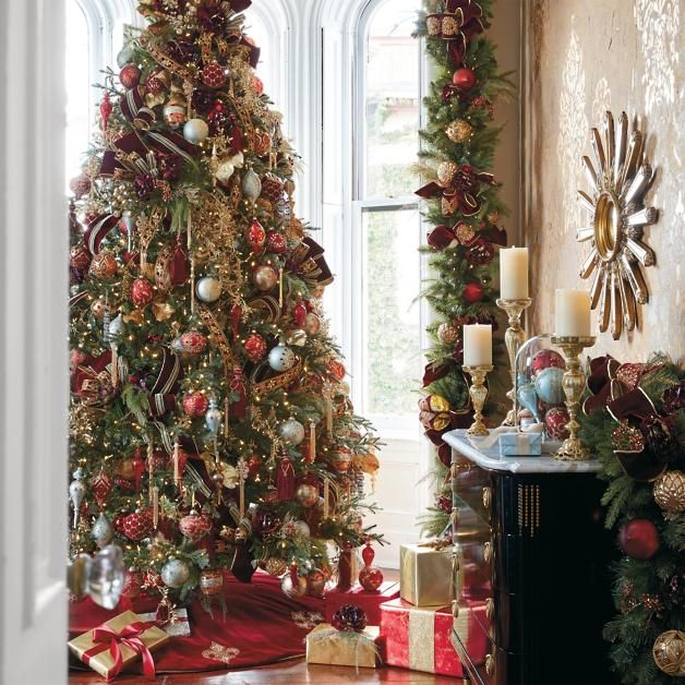 Frontgate:Christmas Trees 2020 Versailles Ornament Collection | Frontgate | Christmas trees in