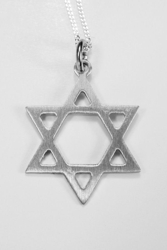 DF106 Star of David Pendant #starofdavid #jewelry #africandesign #stainlesssteeljewelry