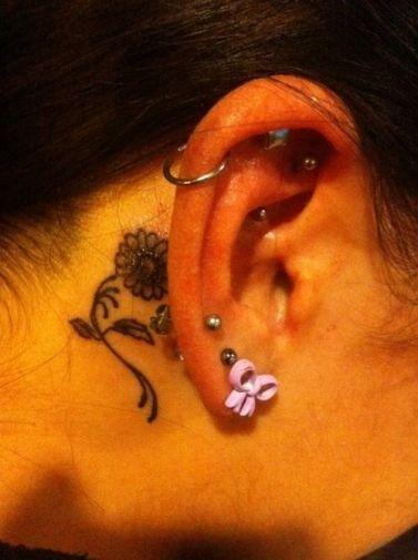 les 188 meilleures images propos de tatouage fleur sur pinterest tatouages de cerises. Black Bedroom Furniture Sets. Home Design Ideas