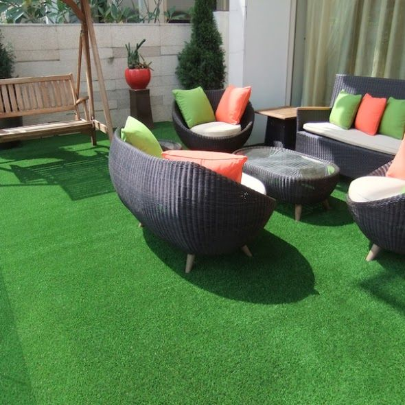 Artificial Grass Terrace Gardens Artificial Grass By Nyc Terrace Deck Roof Garden Arti In 2020 Artificial Grass Artificial Grass Installation Artificial Grass Balcony