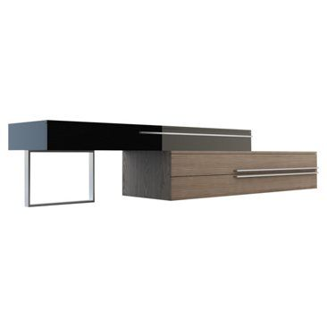 Check out this item at One Kings Lane! Gramercy Media Stand, Walnut