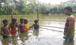 Teaching children swimming and CPR to save lives in Bangladesh
