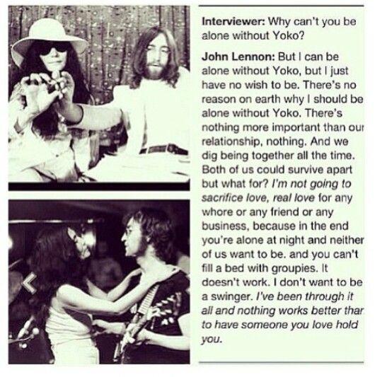 john and yoko relationship quotes