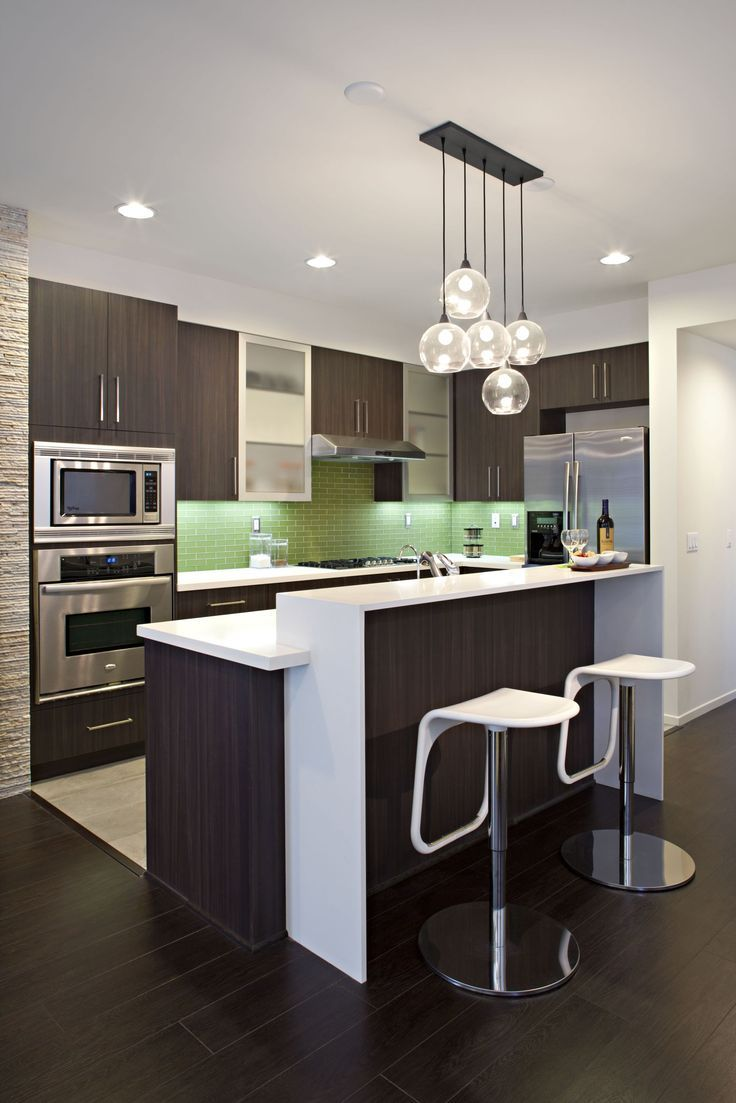 Contemporary #kitchen design; achieve this same great countertop with #VT. www.vtindustries.com