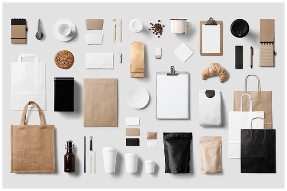 Check out Coffee Stationery / Branding Mock-Up by forgraphic™ on Creative Market