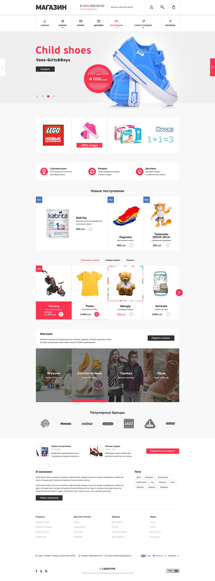 eCommerce Theme on Behance