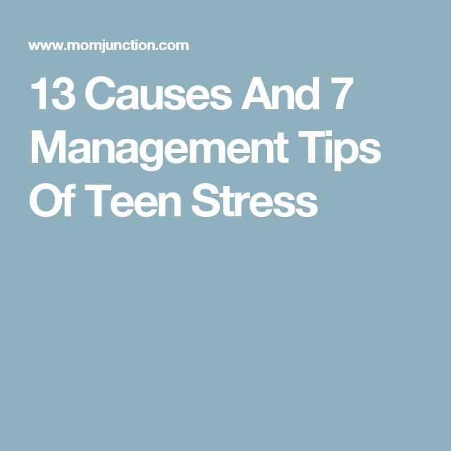 describe the major stressors in teens Teenagers face real problems on a daily basis during the most awkward growth stages of their lives between 13 and 19-years-old during this time, teens are.