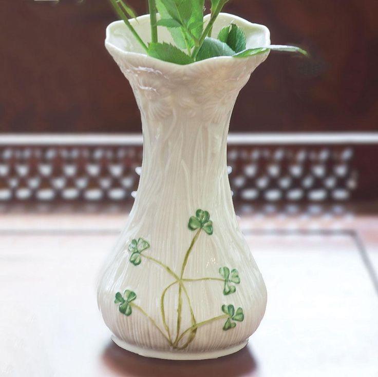 Belleek daisy vase belleek pottery belleek irish decor