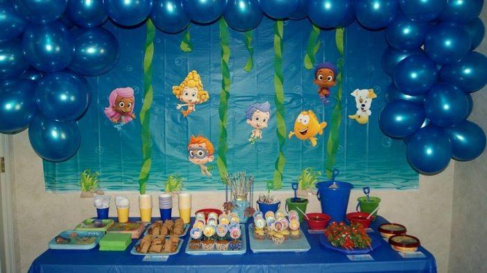 Bubble guppies birthday theme best of pinterest bubble guppies - Bubble guppies center pieces ...