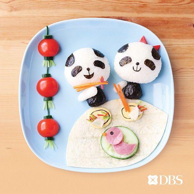 creative food art idea