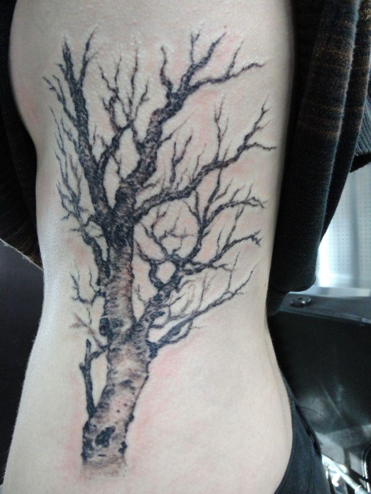 birch tree tattoo designs back - Google Search