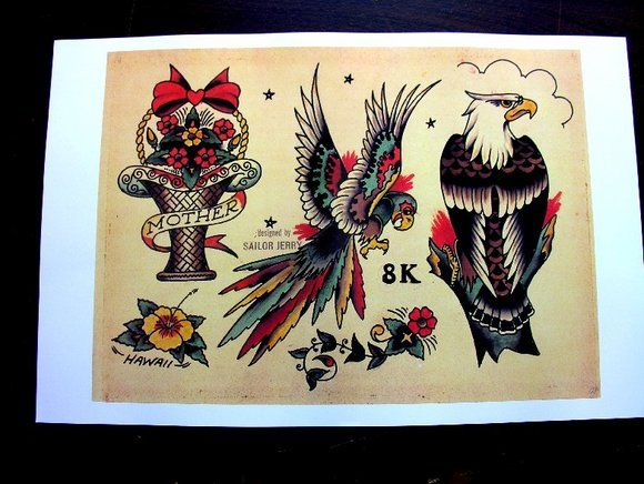 Sailor Jerry Flash | traditional tattoo | Pinterest