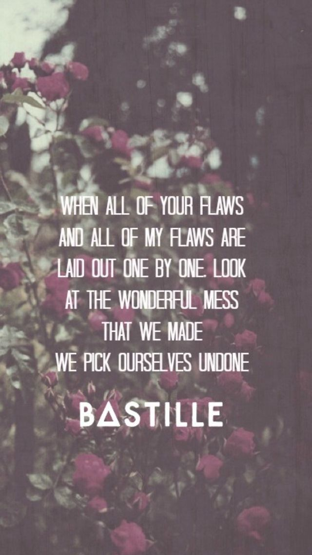 bastille pompeii lyrics printable