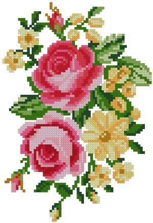 cross stitch rose - Sök på Google
