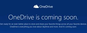 """A couple of weeks ago,Microsoft renamed SkyDrive to OneDriveafter losing a trademark dispute with British Sky Broadcasting Group over the """"Sky"""" name. Although(...)"""