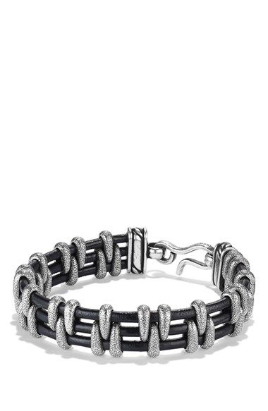 David+Yurman+'Cable'+Station+Bracelet+available+at+#Nordstrom