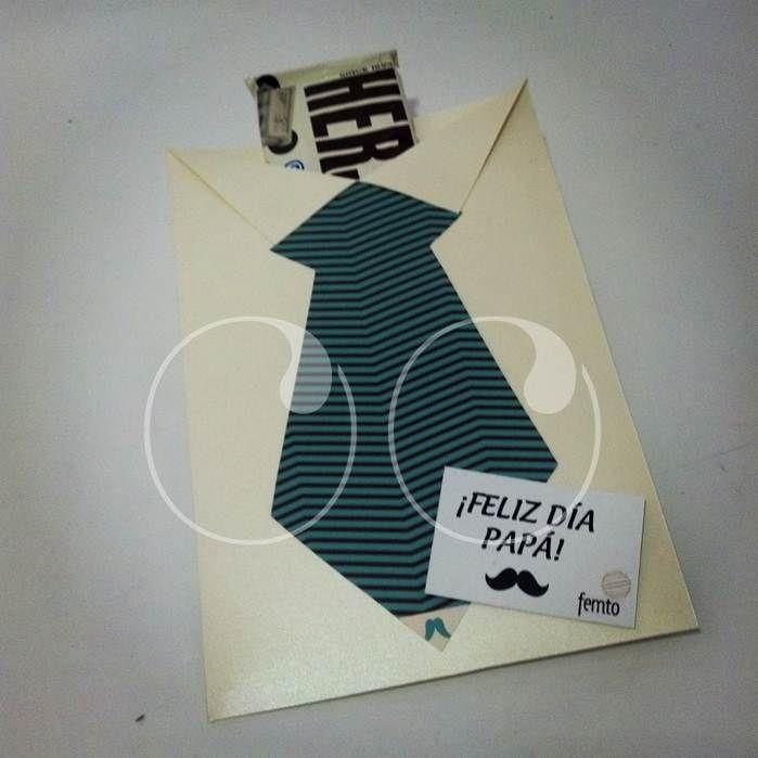Un dulce detalle para papá!  #Dulceria #CamisaYCorbata #Sobres #WooHoo #Ideas #Diseño