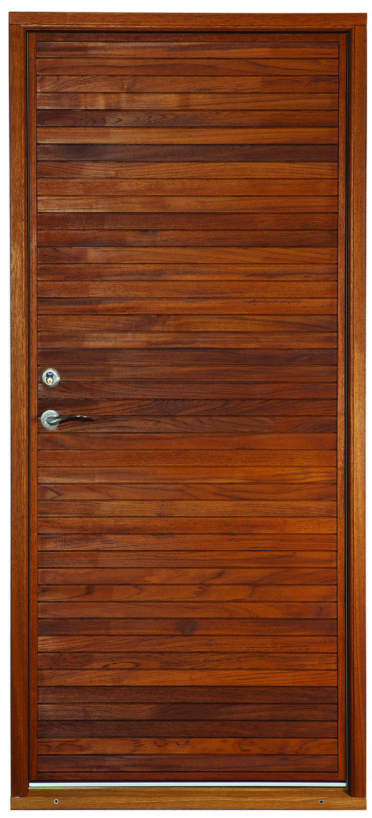 Aros - a modern design from our super secure Je-Trae entrance doors range
