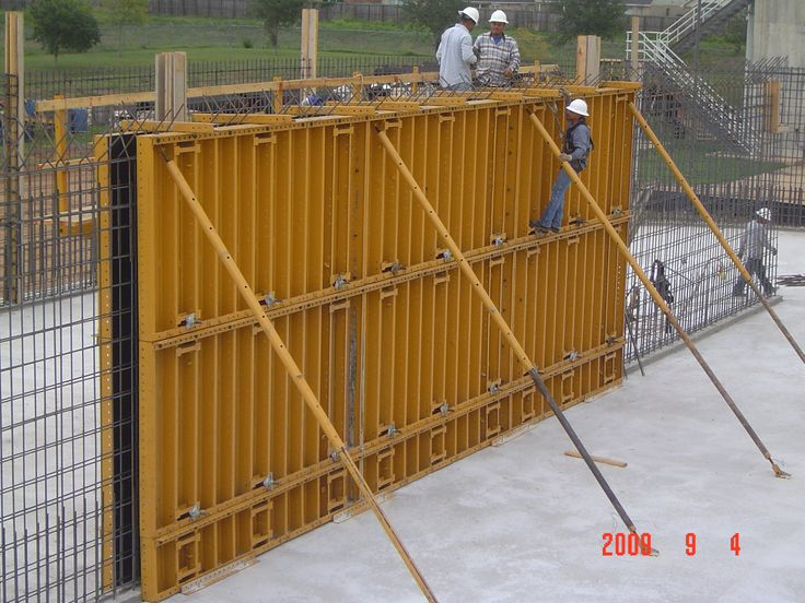 Gates Cam Lock System Concrete Forming Systems Wall