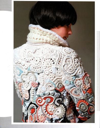 pictures crochet hair styles 712 best knitting fashion images on jackets 1816 | 1ae25ff220a2a6d825475583a0b1816e freeform crochet irish crochet