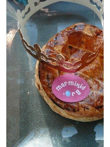 Galette des rois aux pommes et à la cannelle.   Source : http://www.marmiton.org/recettes/recette_galette-des-rois-pommes-cannelle_34330.aspx