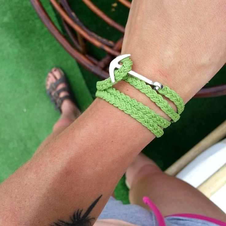 anchor bracelet, braid bracelet, men style, unisex jewelry
