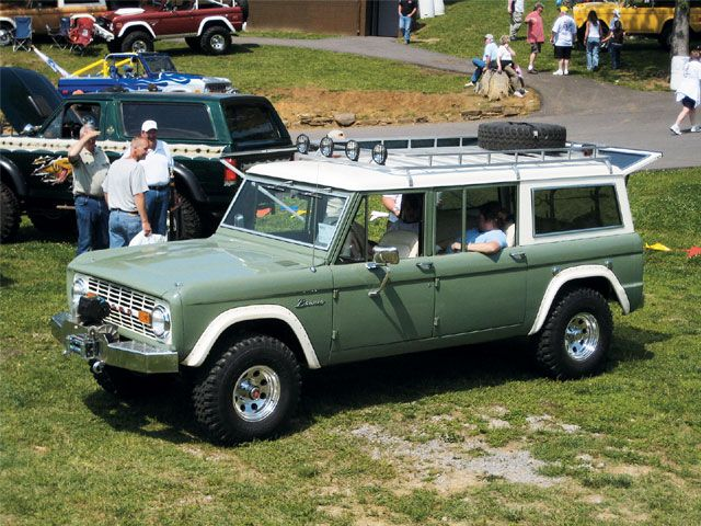 Custom Build 1969 Vintage Ford Bronco