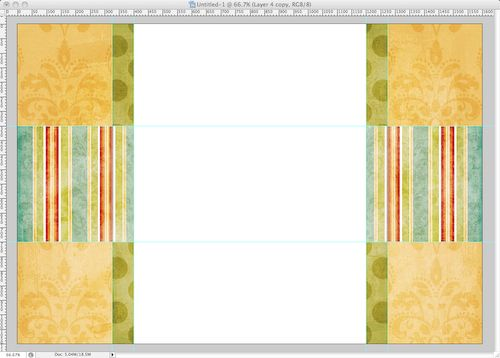 How to Make a Scrapbook Blog Background | Tutorial